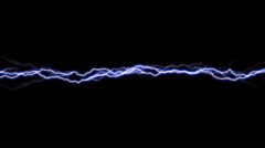 Arcing Electricity Band 1 alpha Stock Footage