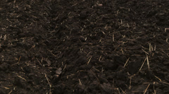 Field Ready For Planting Wheat Stock Footage