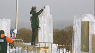 Stock Video Footage of Krasnoyarsk Snow Festival 03