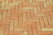 Stock Photo of brick road