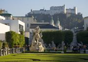 Stock Photo of mirabell gardens in salzburg austria
