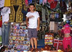 Bazaar in alanya turkey Stock Photos