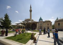 Mevlana museum konya turkey Stock Photos