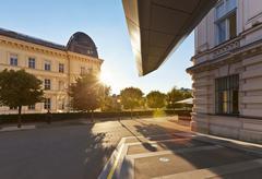 Albertina Museum, Vienna Stock Photos