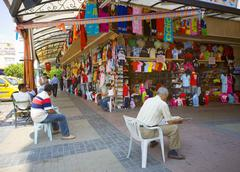 Bazaar in alanya turkey Stock Photos
