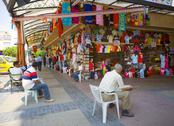 Stock Photo of bazaar in alanya turkey