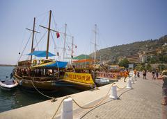 Stock Photo of alanya harbor