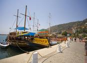 Stock Photo of alanya harbor