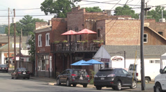 Neighborhood and town PAN Stock Footage