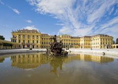 Austria, vienna, schonbrunn castle Stock Photos