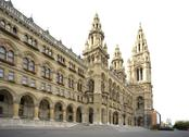 Stock Photo of austria, vienna, town hall