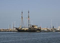 Tunisia djerba island pirates Stock Photos
