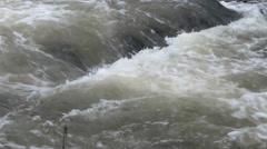 Rapids River Stream Stock Footage