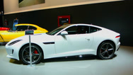 Stock Video Footage of Jaguar F-type coupe