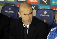 Stock Photo of Real Madrid Sporting Diretor Zinedine Zidane