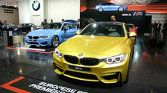 BMW M3 and BMW M4 - stock footage