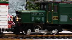 Model Train Sequence #8 Stock Footage