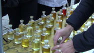 Stock Video Footage of bottles scent oil