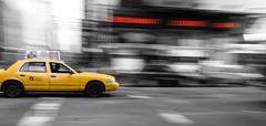 Stock Photo of New York Taxi Cab