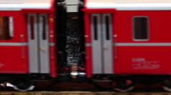 Model Train Sequence #7 Stock Footage