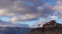 Lake Chelan 20140110-1 cloud sky time-laps winter Stock Footage