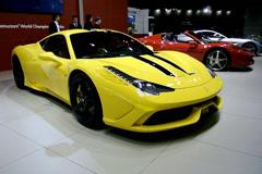 Ferrari 458 Speciale Stock Footage