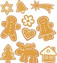 Stock Illustration of gingerbread cookies