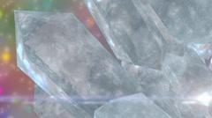Eis Cristal Stock Footage