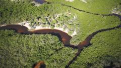 Trancoso Panorama Aerial 10 Stock Footage