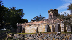 Port arthur ruins Stock Footage