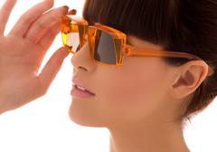shades - stock photo
