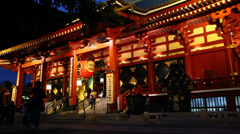 Sensouji temple Stock Footage