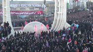 Stock Video Footage of Iran, crowd of women in chadors, Ashura, respect, message, religion, Islam