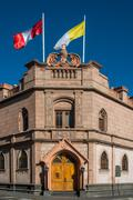Stock Photo of palace of the archbishop at arequipa peru