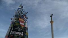 Kiev Maidan Stock Footage