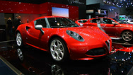 Stock Video Footage of Alfa Romeo 4C