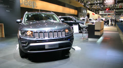 Jeep Compass SUV Stock Footage