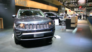 Stock Video Footage of Jeep Compass SUV