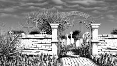 Cemetery Zombie Stock Footage