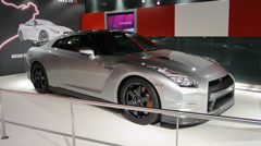 Nissan GT-R Nismo Stock Footage