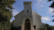 Stock Video Footage of Western Historical Re-enactment - Old west Church
