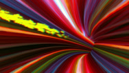 Stock Video Footage of vj, multicolored tunnel. 3d, stereoscopic, anaglyph