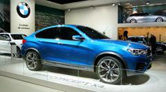 BMW X4 Stock Footage