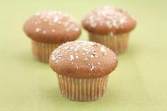 Cranberry muffins Stock Photos