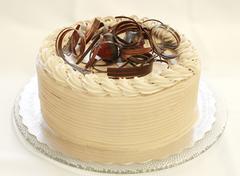 Chocolate strawberry cake  - stock photo