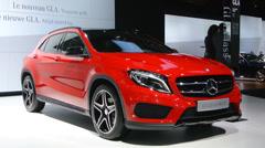 Mercedes-Benz GLA-Class Stock Footage