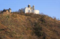 Monsoon palace, udaipur, india Stock Photos