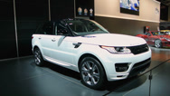 Stock Video Footage of Range Rover Sport