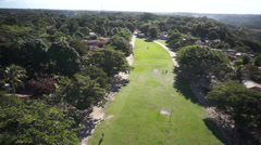 Trancoso turn Aerial 7 Stock Footage
