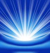lens flare, abstract background - stock illustration